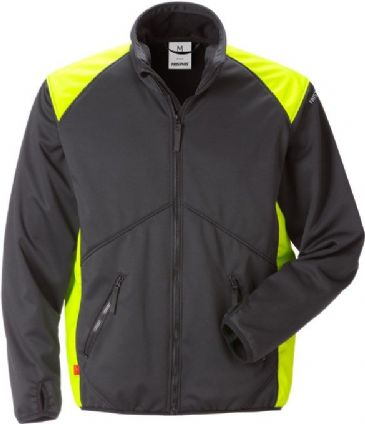 Fristads Windstopper Jacket 4962 GWC (Black/Hi Vis Yellow)